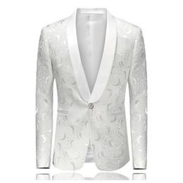 2019 blazers para hombre IEF.G.S hombres chaqueta jacquard traje de  banquete de gama alta bcf885341d7