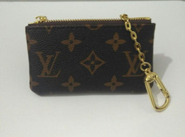 Wholesale good quality designer bags - KEY POUCH Damier canvas holds high quality famous classical designer women key holder coin purse small leather goods bag