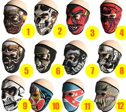 Wholesale motorcycles products - Cycling Masks Outdoor Sports Products Windproof Dustproof Ultraviolet Sports Bicycle Mask Motorcycle Anime pattern Riding Mask Cycling PGear