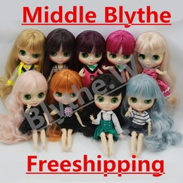 Wholesale Blythe Dolls - middie blythe Free shipping Middie blyth Toy Gift is selling nude. naked 20cm 1 8 hands as gifts