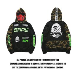 Wholesale Fleece Suit Jacket - Men's high-quality hoodies, camouflage stitches, cardigans, windbreakers, goggles, racing suits, hats, guards, jackets