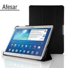 тонкая обложка книги Скидка Ultra Slim smart cover case для Samsung Galaxy Tab S 10.5 sm-T800 t805c tablet обложка книги стенд case авто сна-Проснись