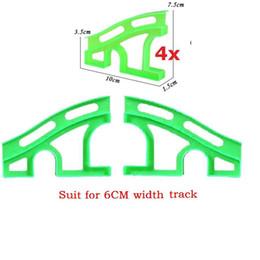 Wholesale car spares - Spare Bridge for Racing tracks That Bend,Flex&Glow 8pcs lot