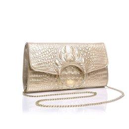 Wholesale Auger Ring - 2017 New Arrival Envelope Genuine Leather Women Hot Style Leather Hand Bag High-grade Ring Set Auger One Shoulder Aslant Female