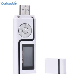 Wholesale Player Speed - Ouhaobin Popular Portable USB MP3 Music Player Digital LCD Screen Support 16GB TF Card High Speed USB Data Transfer Mp3 Oct9