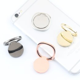 Wholesale rose ring watch - magnetic Pocket watches Metal Ring Phone Holder Cell Phone Holder Fashion for iPhone 7 Plus Universal All Cellphone holder