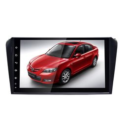 Android car dvd mazda online-Android 8.1 Reproductor de DVD para automóvil para navegación gps para automóvil Pantalla táctil capacitiva de 9 pulgadas Estéreo para automóvil