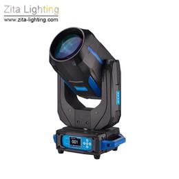 2 Pçs / lote Com Caso de Vôo Zita Iluminação 260 W Moving Head Luzes 9R Sharpy Feixe de Iluminação de Palco Wash Spot Luzes DMX512 DJ Disco Efeito de