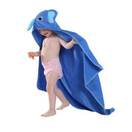 Wholesale Baby Red Cape - Cute Baby Animals Bath Towel Boys Girls Thick Flannel Nightgowns Night-Robe Bathrobe Cape Cloak Cosplay Warm Towel