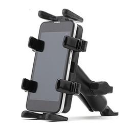 пластиковые велосипедные педали Скидка OUTERDO портативный черный велосипед держатель с T головой для 5,7-дюймовый телефон Interphone GPS устройство велосипед стойки Велоспорт аксессуары