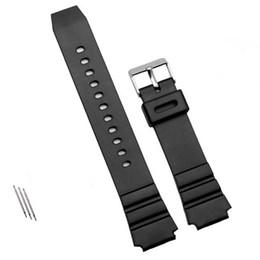 2019 reemplazar reloj 1 unids correa de silicona banda de goma de los hombres de los deportes de buceo correa negra para reemplazar el reloj de pulsera electrónica reloj accesorios reemplazar reloj baratos