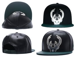 Wholesale Snapbacks Wholesale Prices - New Caps Basketball Snapback Leather Hats Black Color Cap Football Baseball Team Hats Mix Match Order All Caps Top Quality Hat Cheap Price