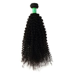 Wholesale tight curly natural hair weave - Virgin Peruvian Hair Curly Hair Weave 3 Bundles 100% Unprocessed Remy Hair Extensions 10-28 Inches Natural Black Thick Tight Soft