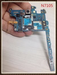 2019 замена камеры iphone oem Международный язык! ~ Разблокировка Хорошее качество Оригинальная материнская плата для Samsung Galaxy Note 2 N7105 Board 4G версия Чистый IMEI