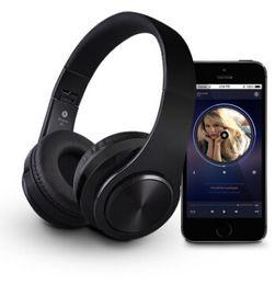 Батареи для наушников bluetooth онлайн-B3 Bluetooth наушники беспроводная оголовье наушники 400mAh аккумулятор TF карта играть AUX аудио линия гарнитура для IPhone Android смартфон