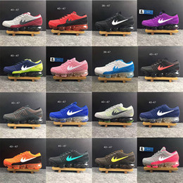 Wholesale Quality Lighting Products - High quality New Running Shoes Air Cushion 2018 Men Women Vapormax Product Hot Sale Breathable Sports Shoes Sneaker US 5.5-12 Free shipping