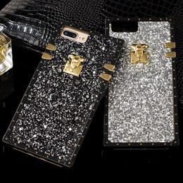 Стильный Bling блеск телефон Case для IPhone X 8 8plus 7 7plus 6 6 S Plus горный хрусталь стиль пластиковые TPU текстуры крышка мобильного телефона от