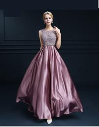 Vestidos de seda de quinceañera online-Impresionante Rose Pink Lentejuelas 2K19 Cuello en V profundo Vestidos de baile Seda sexy Sirena Sin mangas Tallas grandes Vestidos de noche Baratos