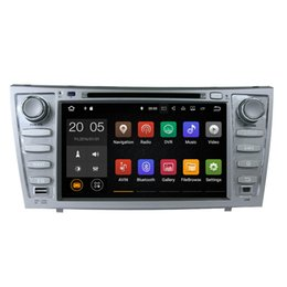"""Wholesale Car Dvd Tv Gps Camry - Android 6.0 7.1 8"""" 2-Din Car DVD Player GPS Navigation for Toyota Camry 2007-2011 with Radio Bluetooth TV USB AUX Audio Video Stereo"""