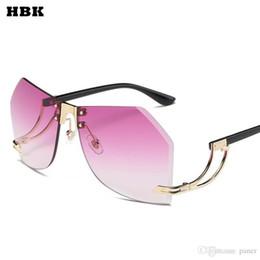 d83e1decd21 2017 New Sunglasses Women Men Oversized Square Glasses UV400 Gradient  Vintage Brand Designer Eyeglasses Frames Rimless Glass eyeglasses oversized  glasses on ...