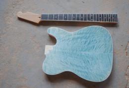 2019 гитарный комплект diy Бесплатный shippingQuilted клен топ незавершенные теле комплект diy kit электрогитара гитара все цвета принять Бесплатная доставка OEM производство принять дешево гитарный комплект diy