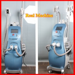 Wholesale Laser Lipolysis - Newest Fat Freezing Machine With 3 Cool Sculpting Cryo Lipolysis + Lipo Laser + Cavitation+RF Weight Loss Slimming Machine For Spa