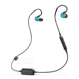 Shure SE215-BT1 Drahtlose Kopfhörer HIFI In Ear Noise Cancelling Bluetooth Sport Ohrhörer Moving-Coil Ohrhörer Mit Kleinpaket von Fabrikanten