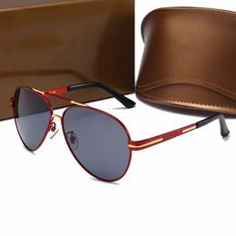 61e00404cde Best-selling Sun Glasses Style Pilots Frameless Frame Leather Legs Top  Quality Designer Brand Sunglasses Anti-UV Protection Drive Sunglasses