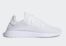 Wholesale Names Shoes - (With Box ) 2018 HOT SALE New Originals DEERUPT RUNNER SHOES mans womens shoes sports shoes running shoe Big name CQ2624 szie 36-45