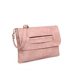 Wholesale Trend Girls Bag - Women Envelope Clutch Bag PU Leather Lady Crossbody Bags Girl Trend Handbag Messenger Bag Clutches