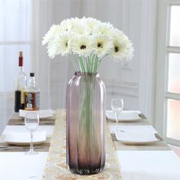 beliebte hochzeitsstrauß blumen Rabatt 6 Farbe Sadin Daisy Bouquets Beliebte Hochzeit Hauptdekorationen Simulation Blumen Für Gute Laune Künstliche Blume Brautstrauß 1 6lx X