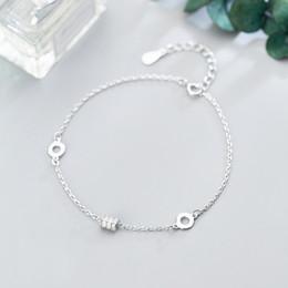 kugelgelenk silber armband Rabatt MloveAcc Echt 925 Sterling Silber Korea Design CZ Ball Charm Armbänder für Damen Mode Sterling-Silber-Schmuck