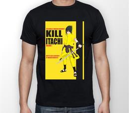 T-shirts en Ligne-Tuez Itachi Sasuke Naruto T-shirt Tshirt Tshirt Unisexe T-shirt Unisexe TOUTES LES TAILLES