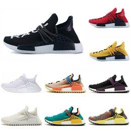 2348b0baa Atacado Corrida humana mens running shoes Nerd Lona Preta Giz Coral Sol  brilho Preto mulheres sports sneaker tamanho 5.5-12