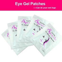 2019 cuscinetti 30 paia / set Set di ciglia Gel Patch sotto Eye Pads Lint Free Lashes Extension Mask Makeup cuscinetti economici