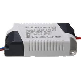 Адаптер 24w онлайн-AC85-265V светодиодный драйвер адаптер питания светодиодный свет лампы трансформатор освещения 300mA 1-3W 5W 7W 12W 15W 24W