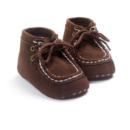 Canada Mode Bébé Chaussures Infant Toddler Bébé Garçons Filles Chaussures Tissu Dentelle jusqu'à Semelle Souple 0-18 mois cheap infant lace shoes Offre
