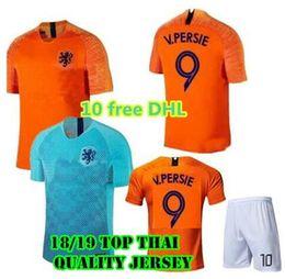 2018 Nederland soccer jersey home orange netherlands JERSEY ROBBEN SNEIJDER  18 19 thai quality HOLLAND JERSEY V.Persie Dutch football shirts 02d87309b
