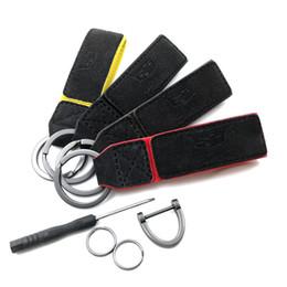 Portachiavi per auto Portachiavi AMG Badge Emblemi per auto per Mercedes Benz A45 SLS AMG E63 Portachiavi Accessori auto Car Styling da emblema giallo fornitori
