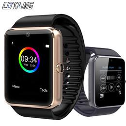 2019 i bambini guardano il telefono COXANG GT08 Smart Watch Bambini Uomo Bambini Orologio Telefono SIM Card Orologio fotocamera Smartwatch gt 08 Connetti Android IOS PK A1 sconti i bambini guardano il telefono