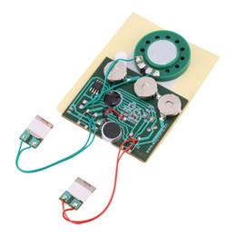 Módulo de sonido online-30s Sonido de música grabable Módulo de voz Chip 0.5W con batería de botón