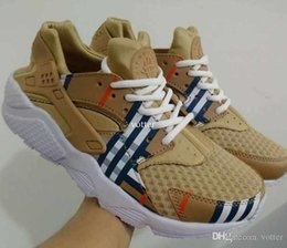 canvas shoes customs Promo Codes - 2017 Cheap Air Huarache Running Shoes For Women & Men,High Quality Mens Huaraches Famous Brand Custom Designer Sport Sneakers 36-45