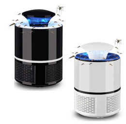 zapper lamp Promo Codes - Electric Mosquito Killer Lamp USB Photocatalyst Mosquito Killer Fly Moth Bug Insect Trap lamp powered bug zapper moskito killer