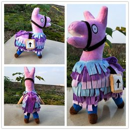 """Discount stuffed animal costumes - Fortnite Game Troll Stash Llama Plush Toy 10"""" Soft Stuffed Doll Animal Cartoon Toys Action Figure Toys for Children Adult Gifts Hot"""