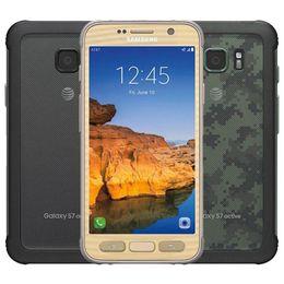 Samsung galaxy schroff online-Refurbished Ursprüngliches Samsung Galaxy S7 Active G891A Robustes Telefon 5,1 Zoll Quad Core 4 GB RAM 32 GB ROM 12MP Unlocked Smart Phone DHL 1St