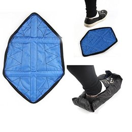 Wholesale Automatic Steps - Sock Shoe Covers Environmental protection repeatedly slippers Quick automatic shoe cover Step in Sock SK006