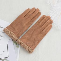2019 handschuhtelefon Hotselling Winter-Handyhandschuhe-Touch Screen Handschuhe wärmen volle Finger Guantes-Handschuh-Handy-Note iGloves Freies Verschiffen günstig handschuhtelefon