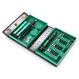 Juego de destornilladores de precisión online-38 en 1 Juego de destornilladores compactos Juego de herramientas de reparación Juego de destornilladores de precisión Herramientas de mano para equipo de herramientas de reparación de teléfonos electrónicos