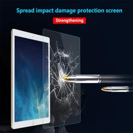 Para iPAD Protector de pantalla de cristal templado para Ipad 2/3/4 mini 4 Air 9.7 Nuevo iPad Pro 10.5 2017 9H 0.3mm Tablet película templada desde fabricantes