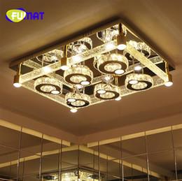 2018 пузырьковая колонка кристаллическое освещение краткая современная гостиная лампа светодиодный потолочный светильник прямоугольник можно настроить от